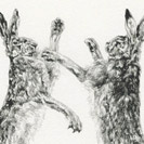 Thumbnail of Boxing Hares 5